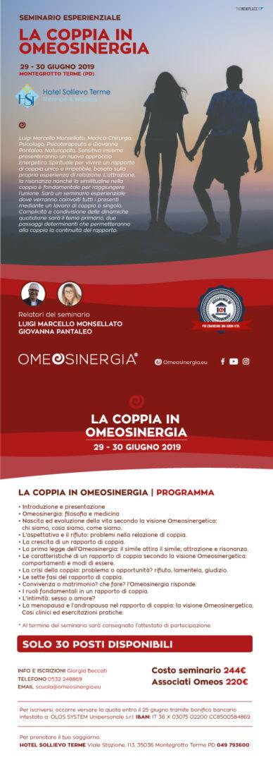 Seminario La Coppia in Omeosinergia